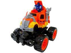Машина-грузовик трансформер инерционная