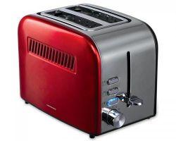 Тостер Heinner HTP-850RDIX, 850Вт, Красный