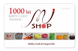 Card cadou / 1000 lei