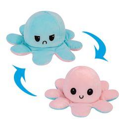 Octopus Plush Reversible, Pink & Bluemarine