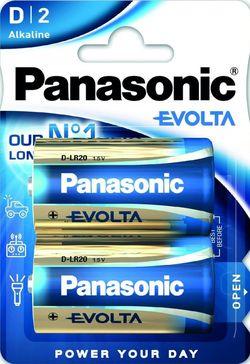 купить Батарейка Panasonic LR20EGE/2BP blister в Кишинёве