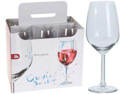 Set pahare pentru vin rosu EH 6buc, 410ml, H20сm