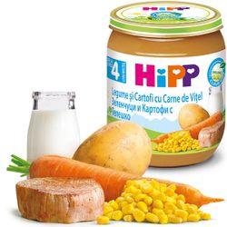 Пюре Hipp овощи и картофель с телятиной (4+ мес.), 125 г