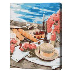 Пикник рядом с морем, 40х50 см, картина по номерам  BS51331