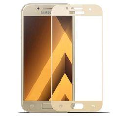 Защитное стекло Samsung A320 GOLD (5D )