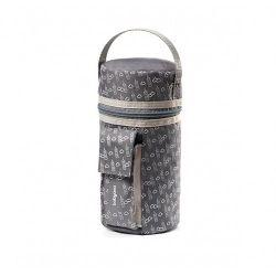 Термо-сумка с функцией подогревания Babyono серая