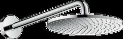 Raindance S Cap de duș 240 1jet PowderRain cu braț de duș