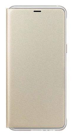 cumpără Husă pentru smartphone Samsung EF-FA530, Galaxy A8 2018, Neon Flip Cover, Gold în Chișinău