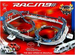 Трек для машин и железная дорога Racing cars №50703