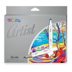 Set de markeri Colorino Artist 1-5 mm 12 buc.