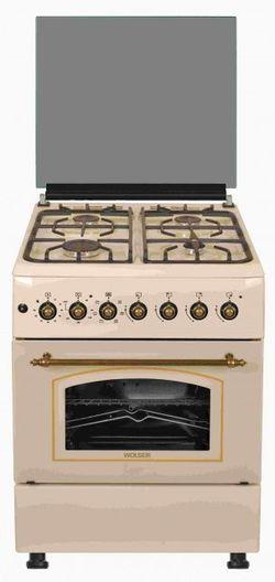 Газовая плита Wolser WL-60602 Rustic Ivory