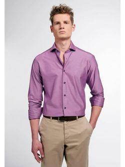 Рубашка ETERNA Фиолетовый