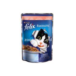 Felix Fantastic с лососем