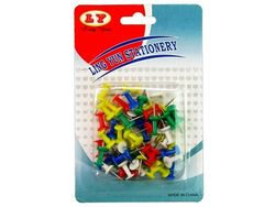 Set pioneze 50buc, plastic, colorate