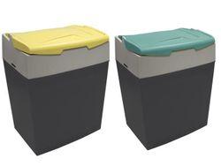 Geanta frigorifica din masa plastica Shiver-30, 31l, h24, capac colorat
