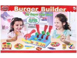 Set pentru modelare Funny Lucky Burger shop (accesorii)