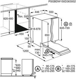 Maşină de spălat vase încorporabilă Electrolux ESL4510LO