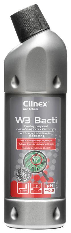 Clinex W3 Bacti 1l curățărea suprafețelor sanitare