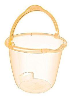 Ведро пластиковое прозрачное 10л Favilla
