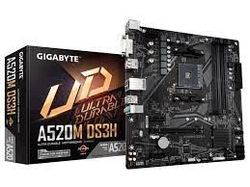 MB AM4 Gigabyte A520M DS3H 1.0  mATX
