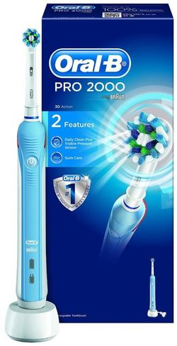купить Щетка зубная электрическая Oral-B D20.523 Pro 2000 в Кишинёве