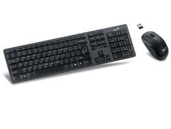 Беспроводная клавиатура + мышь Genius SlimStar 8005, Black