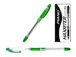 Ручка гелевая PT-335 soft ink 0.7mm, зеленая