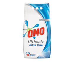 Omo Ultimate Active Clean, 8 kg.