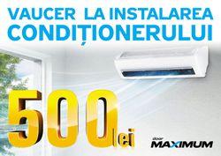 cumpără Certificat - cadou Maximum VOUCHER_500 Reducere la instalarea aparatului de aer condiționat în Chișinău