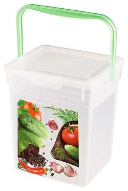 Container BYTPLAST 4312232 (pt frigarui cu decor 4 kg)
