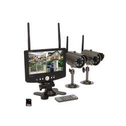 Система 4-канальная беспроводного видеонаблюдения ORNO ORMTJE1801