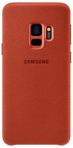 cumpără Husă telefon Samsung EF-XG960, Galaxy S9, Alcantara, Red în Chișinău