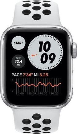cumpără Ceas inteligent Apple Apple Watch Nike SE GPS, 40mm Silver Aluminium Case (MYYD2) în Chișinău