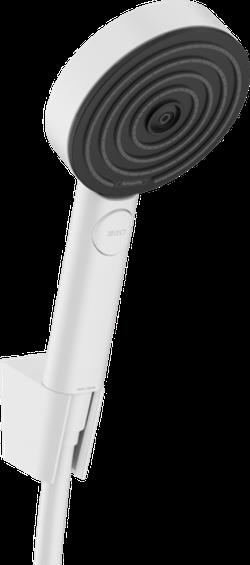 Set de duș Pulsify Select cu suport de duș 105 3jet Relaxation, furtun 160 cm, alb mat