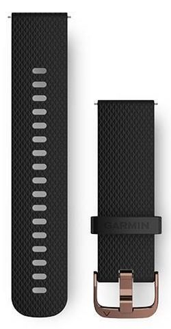 cumpără Accesoriu pentru aparat mobil Garmin Quick Release Bands (20 mm) Black Silicone Band în Chișinău