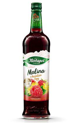 Сироп Herbapol Raspberry with Linden, 680 мл