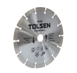 Disc diamant cu segment 180 * 22.2mm Tolsen