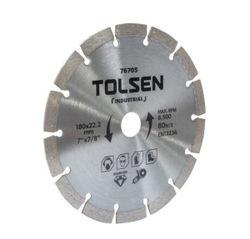 Диск алмазный сегментный 180*22.2mm Tolsen