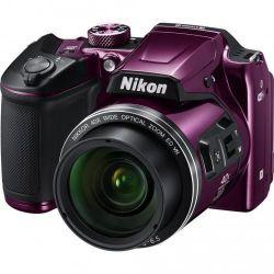 купить Фотоаппарат компактный Nikon B500 Purple в Кишинёве