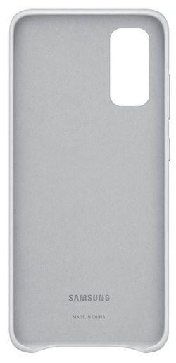 cumpără Husă telefon Samsung EF-VG980 Leather Cover Grayish White în Chișinău