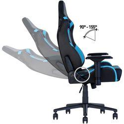 Офисное кресло Новый стиль Hexter PRO R4D Tilt MB70 Eco/03 Black/Blue