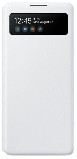 cumpără Husă telefon Samsung EF-EG770 S View Wallet Cover White în Chișinău