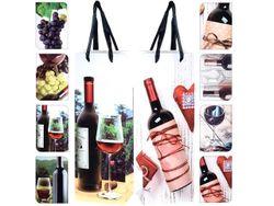 Пакет подарочный для бутылки, 36Х12.8Х8.4сm