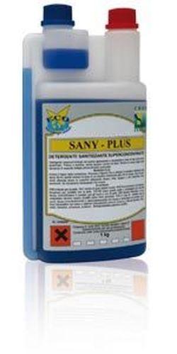 SANY-PLUS detergent dezinfectant super-parfumat  pentru podele 1000ml