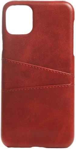 купить Чехол для смартфона Helmet iPhone 11 Red Leather With Pocket в Кишинёве