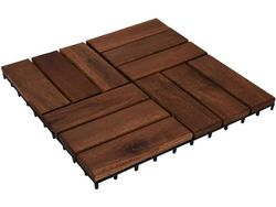 Parchet impermeabil din lemn 9buc,