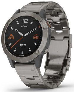 cumpără Ceas inteligent Garmin fenix 6 Pro Sapphire editions Titanium with vented titanium bracelet în Chișinău