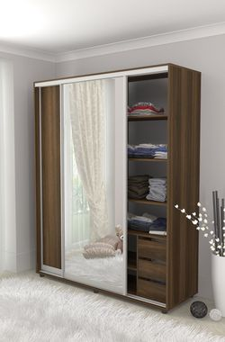 Cupboard 1800 with 1 mirror