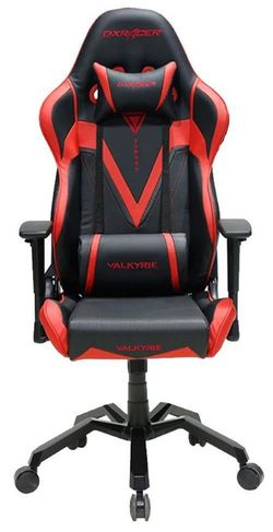 купить Gaming кресло DXRacer Valkyrie GC-V03-NR-B, Black/Red/Black в Кишинёве