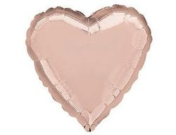 Сердце из розового золота 30 / 76,5 см